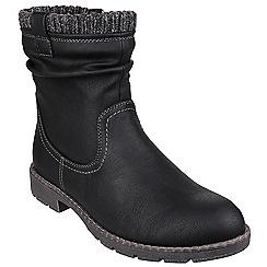 Divaz - Black 'Luca' ankle boots