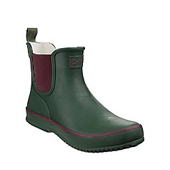 Cotswold - Green 'Bushy' mid wellington boots