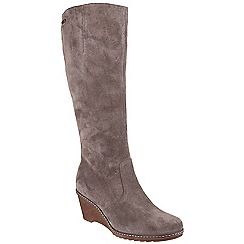 Cotswold - Taupe 'Bladon' knee high boots