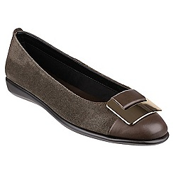 The Flexx - Loden 'Rise n curry' ballerinas