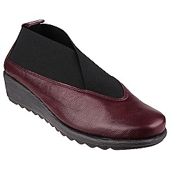 The Flexx - Merlot 'Stretch run' shoes