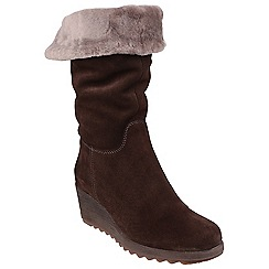 The Flexx - Ebony 'Pick a fur' boots