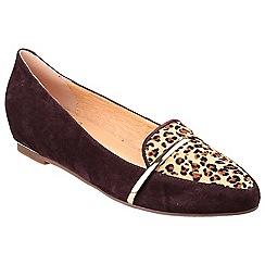 Riva - Brn/le 'Taranto' slip on shoes