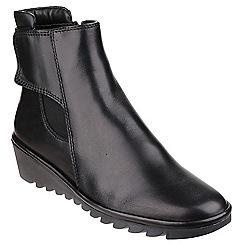 The Flexx - Black 'Malificent' booties