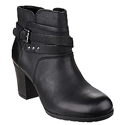 Rockport - Black 'Catriona Buck' bootie