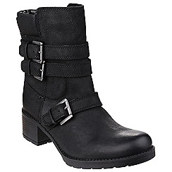 Rockport - Black 'Rola Buck' bootie