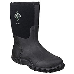 Muck Boot - Black 'Hoser Classic Mid' wellington boot