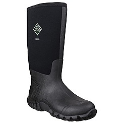 Muck Boot - Black 'Hoser Classic Hi' wellington boot