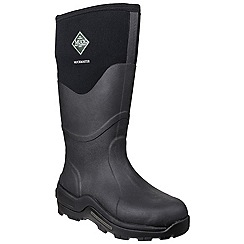 Muck Boot - Black 'Muckmaster Hi' wellington boot