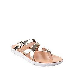 Fantasy - Gold 'Platia' sandals