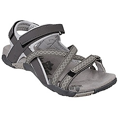 Cotswold - Grey 'Milcombe' velcro sandals