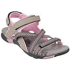 Cotswold - Pink 'Milcombe' velcro sandals