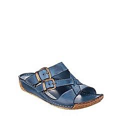Cotswold - Denim Tetbury' buckle sandals