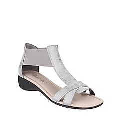 The Flexx - Silver 'Band Together Cosmic' sandals