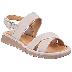 The Flexx - Corda 'Walk A Beat Nubuck' cross strap sandals