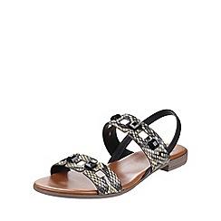 Riva - Snake 'Esta' leather sandals