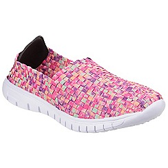 Divaz - Ltpink 'Raft' slip on trainers