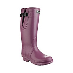 Cotswold - Purple 'Kew Neoprene' Wellington boots