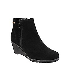 Cotswold - Black 'Ford' suede ankle boot