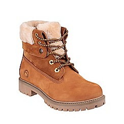 Cotswold - Honey 'Arlingham' leather boots