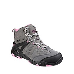 Cotswold - Grey/pink 'Coberley' walking boots