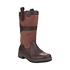 Cotswold - Walnut 'Ascot' leather boot