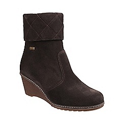 Cotswold - Brown 'Cornwell' suede ankle boots