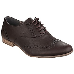 Divaz - Brown 'Levato' lace up brogue