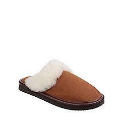 Cotswold - Camel 'Radway' slipper