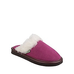 Cotswold - Pink 'Radway' slipper