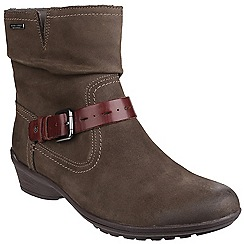Rockport - Stone 'Raven Riley' waterproof ankle boot
