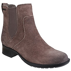 Rockport - Grey 'Copley Christine' waterproof ankle boot