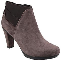 Geox - Chestnut 'Inspirat' slip on ankle boot