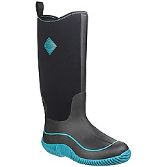 Muck Boot - Black/harbor blue 'Hale' wellington boot