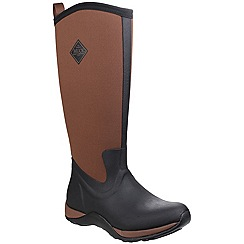 Muck Boot - Black/tan 'Arctic Adventure' wellington boot