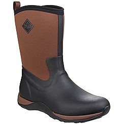 Muck Boot - Black/tan 'Arctic Weekend' wellington boot
