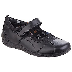 Hush Puppies - Girls' black 'Cindy' leather shoes