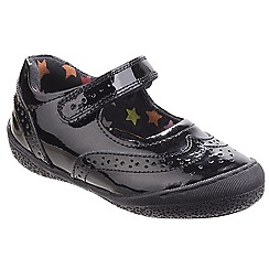 Hush Puppies - Girls' black Rina' patent shoes