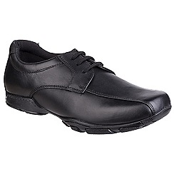 Hush Puppies - Boys' black 'Vincente' leather shoes