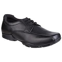 Hush Puppies - Boys' black 'Vincente' leather shoes
