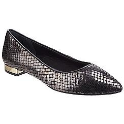 Rockport - Black am lux 'Total Motion Adelyn' ballet shoes