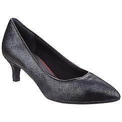Rockport - Black snake Total Motion Kalila' court shoes