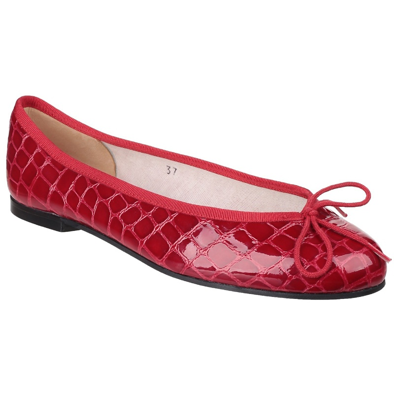 French Sole Red 'Henrietta' ballerina