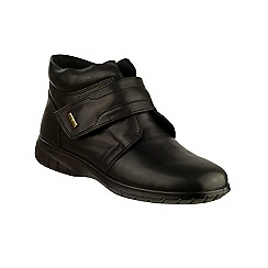 Cotswold - Black leather 'Chalford' ankle boots