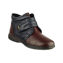 Cotswold - Navy leather 'Chalford' ankle boots