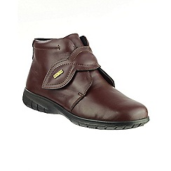 Cotswold - Brown leather 'Tew' ankle boots