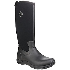 Muck Boot - Black/black 'Arctic Adventure' wellington boots