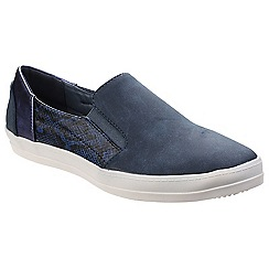 Divaz - Blue 'Minaj' casual trainers