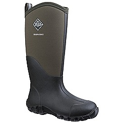 Muck Boot - Green 'Edgewater II Tall' wellington boots