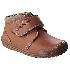 Hush Puppies - Tan leather 'Archie' shoe boots